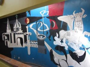 Bevan Court Fresco