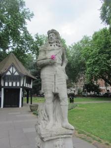 Charles II Soho Square