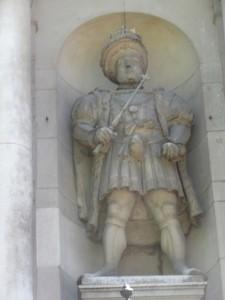 Henry VIII St Barts