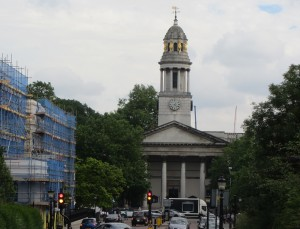 St Marylebone Chruch and York Gate