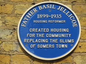 Basil Jellicoe Plaque