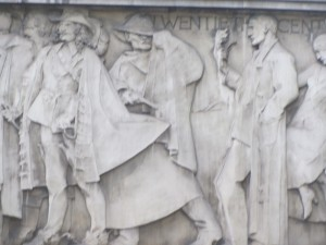 C20th Frieze Close-up