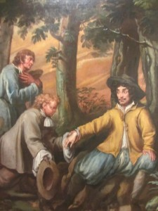 Charles II at Boscobel