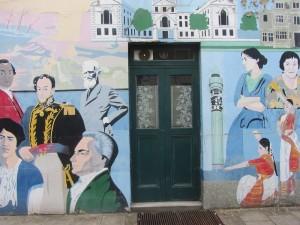 Fitzrovia Community Centre mural