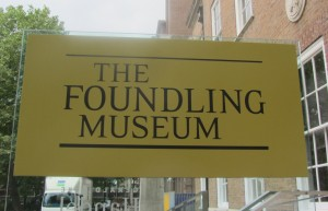 Foundling Museum sign