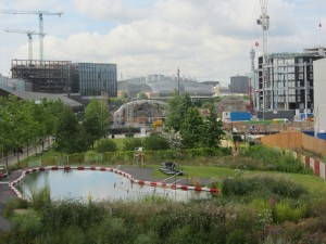 Greening of King's Cross