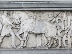 Rome Frieze on Odeon