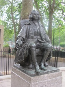Thomas Coram statue